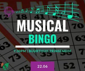 Musical Bingo @ Buurthuis Prinsenhof