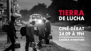 Ciné/débat: Colombie, Terre de lutte @ Cinéma Aventure | Brussels | Belgium