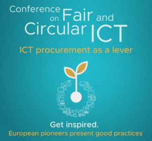 Conference Fair and Circular ICT @ Het Pand