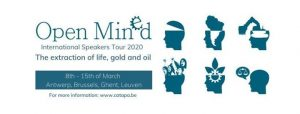 Open MinEd 2020 - Speakers Tour: The extraction of life, gold and oil @ Catapa vzw