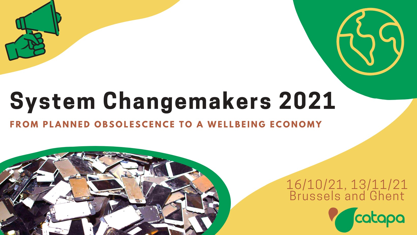 Changemakers event cover
