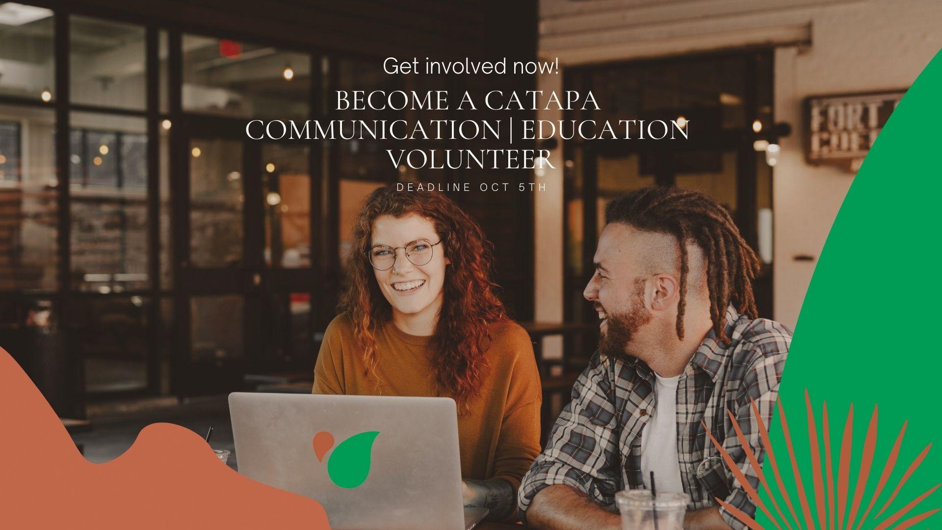 Catapa communication education volunteer